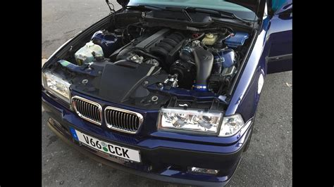 Supercharged Bmw E36 M3 - YouTube