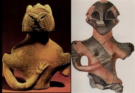 The mysterious Vinca figurines; Evidence of
