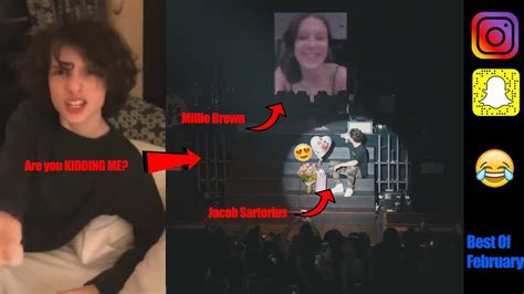 Finn Wolfhard Reacts To Millie Bobby Brown Dating Jacob