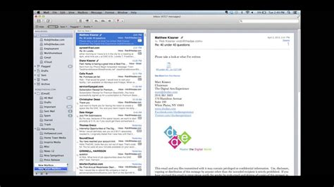 Simplifying Email with Smart Mailboxes in Apple Mail - YouTube