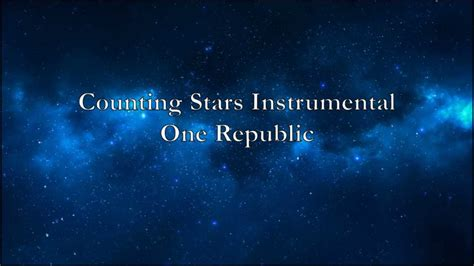 Counting Stars Instrumental- One Republic - YouTube