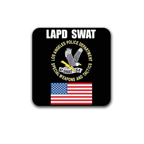 LAPD SWAT Decal Sticker Los Angeles Police Department