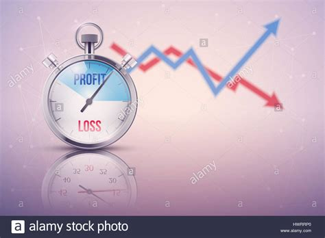Background of stopwatch for forex trader