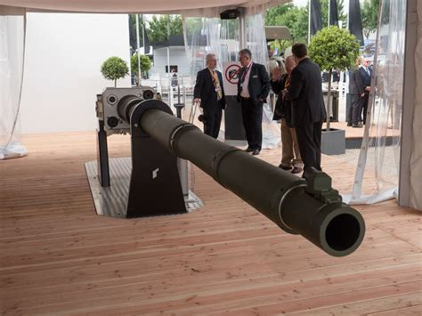 Germany unveils new 130 mm tank gun that is 50% better