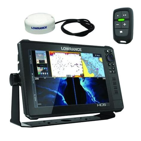 Lowrance HDS-12 Live Touch Screen GPS