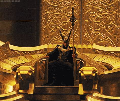Loki's Perspective: On the Throne at FeatherWriter