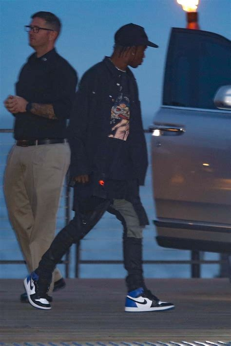 Travis Scott Takes Kylie Jenner Out For Dinner Date in his