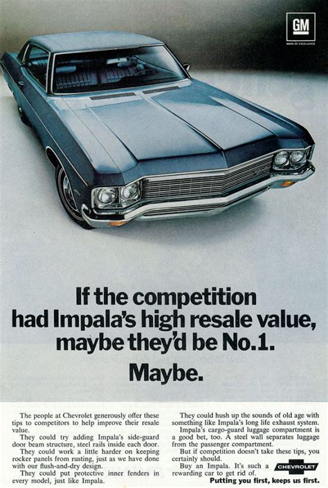 Model-Year Madness! 10 Classic Ads From 1970   The Daily