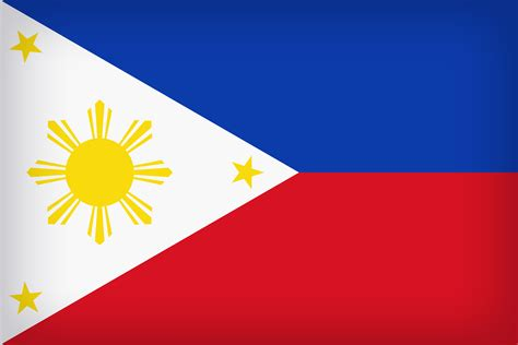 Philippines Large Flag   Gallery Yopriceville - High