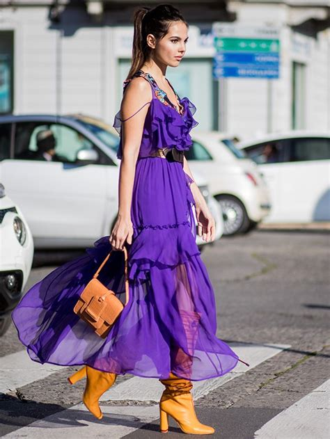 How to Wear Purple and Not Look Like a Goth | Who What Wear UK