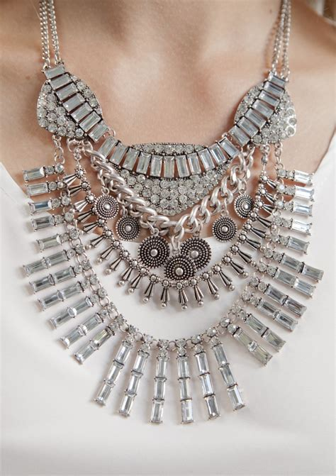 Tribal Boho Statement Kette - Happiness Boutique
