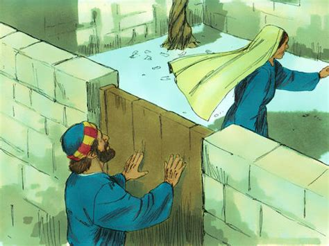 FreeBibleimages :: Peter's miraculous escape from prison