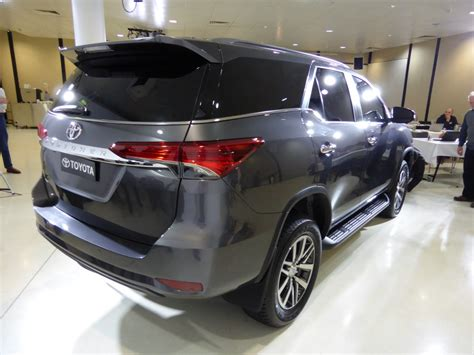 Diesel 4x4 Fortuner added to Toyota's large SUV range