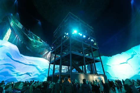 yadegar asisi projects a 360° panorama of the titanic at 1