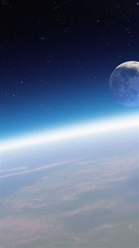 md13-wallpaper-earth-horizon-in-space - Papers