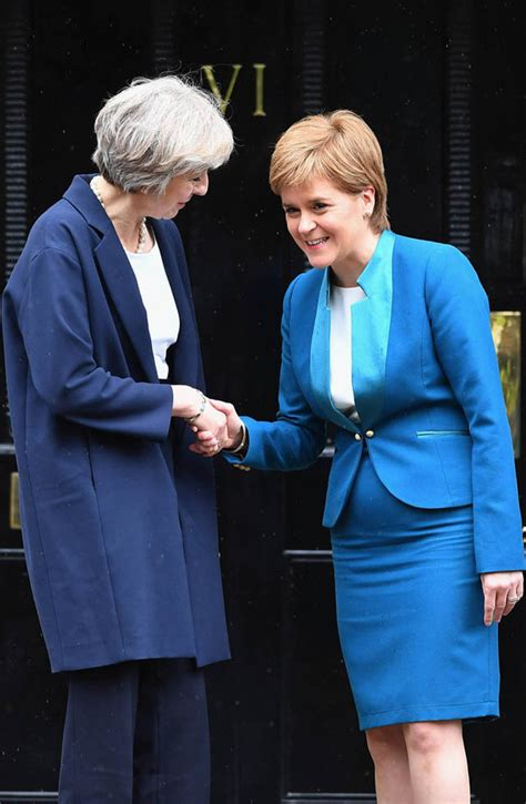 Theresa May warned Scots there will not be a second
