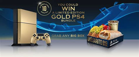 Live Mas by winning this Gold PS4 exclusively through Taco