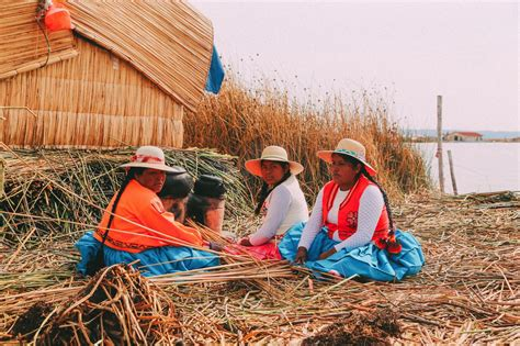 Exploring the incredible floating islands of the Uros of