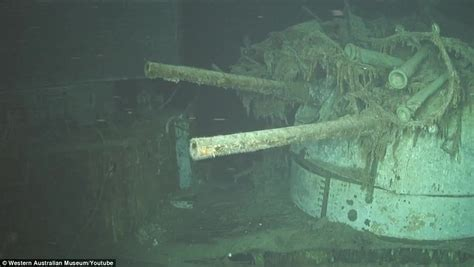 High resolution photos of warships sunk in 1941