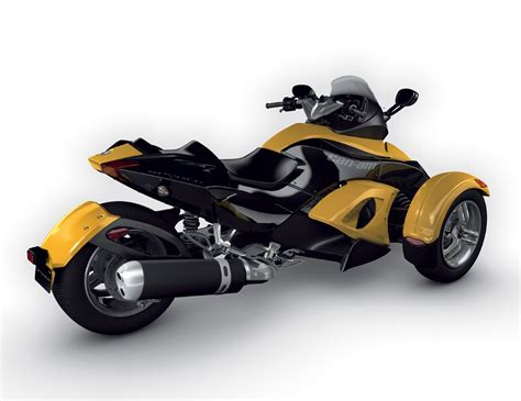 Motorcycle Pictures: Can-Am Spyder Roadster SE5 2008
