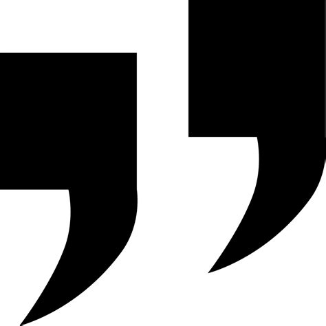 Under Quotation Marks Svg Png Icon Free Download (#277065