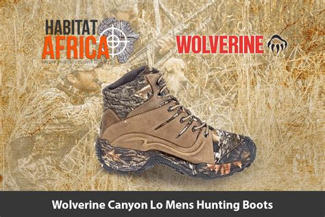 Wolverine Canyon Lo Mens Hunting Boots - Habitat Africa