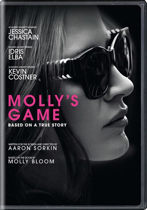 Molly's Game DVD Release Date April 10, 2018