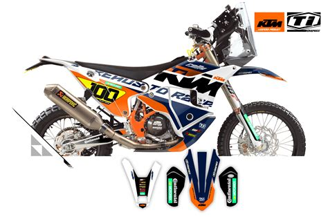 KTM Rally Ralley 450 EXC Replica Bull Factory Red Racing