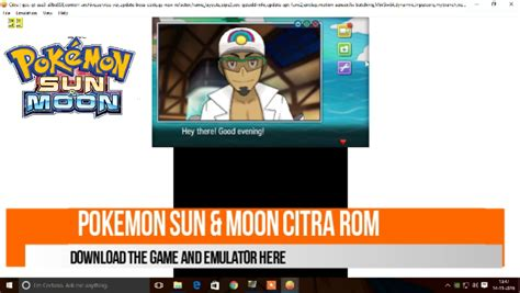 POKEMON X AND Y 3DS IN PC BY CITRA EMULATOR(DOWNLOAD ROM